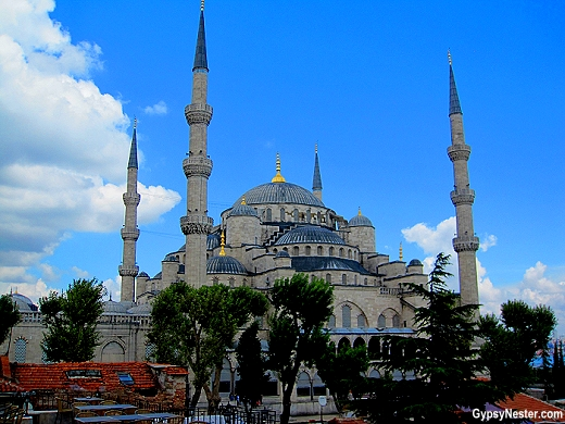 The Blue Mosque of Istanbul - so beautiful!