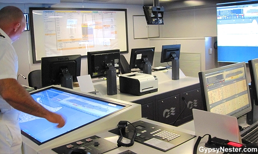 The Safety Center aboard the Royal Princess