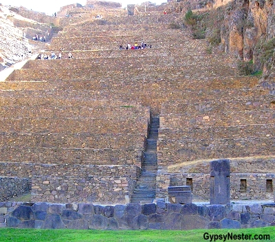 Ollantaytambo, the archaeological site