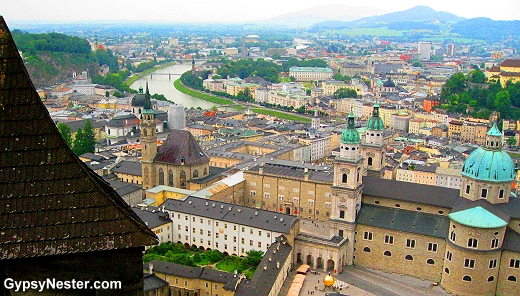 View of Salzburg from the Castle