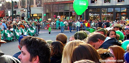 The route may be small, but the event sure isn't! The World's Shortest St. Patrick's Day Parade in Hot Springs Arkansas