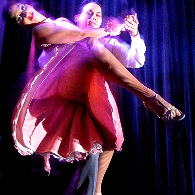 The spectacular tango show at Complejo Tango, Buenos Aires
