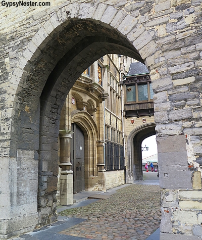 The Steen, which means stone, is a part of the original thirteenth century fortifications of Antwerp, Belgium