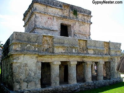 The Temple of the Frescos, Tulum, Mexico