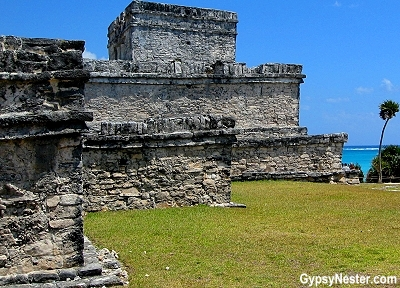 The ruins at Tulum, Mexico