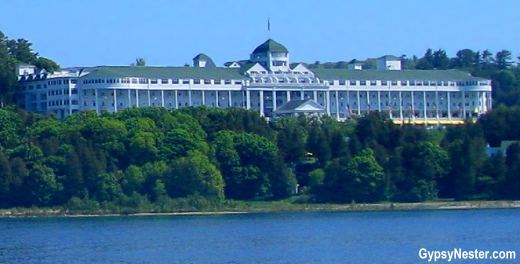 The Grand Hotel in Mackinac Island, Michigan