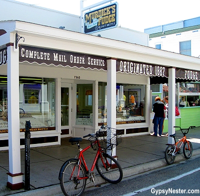 Murdick's Fudge on Mackinac Island, Upper Peninsula, Michigan