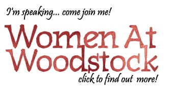 Veronica James is speaking at Women at Woodstock!