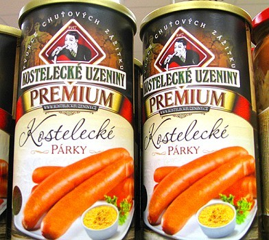 Czech Sausage in a Can